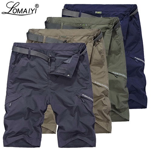 Men Breathable Quick Dry Cargo Short