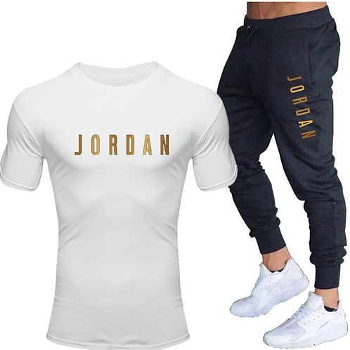 Jordan Men's T Shirts & Pants set