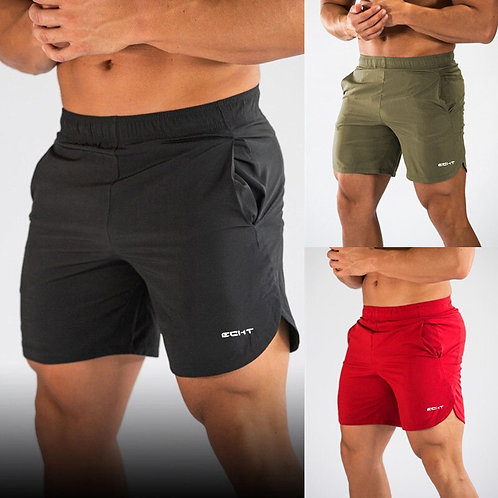 Men Gyms Fitness Loose Shorts Quick-Dry Cool Short