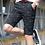 Thumbnail: Men Shorts Fishbone Bermuda Masculina
