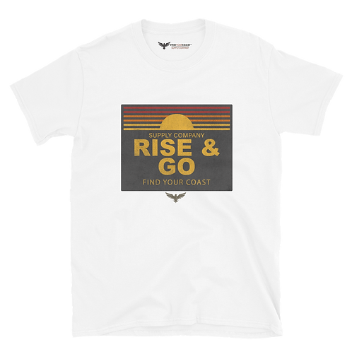 Men's Rise and Go Vintage Short Sleeve Crewneck Tee