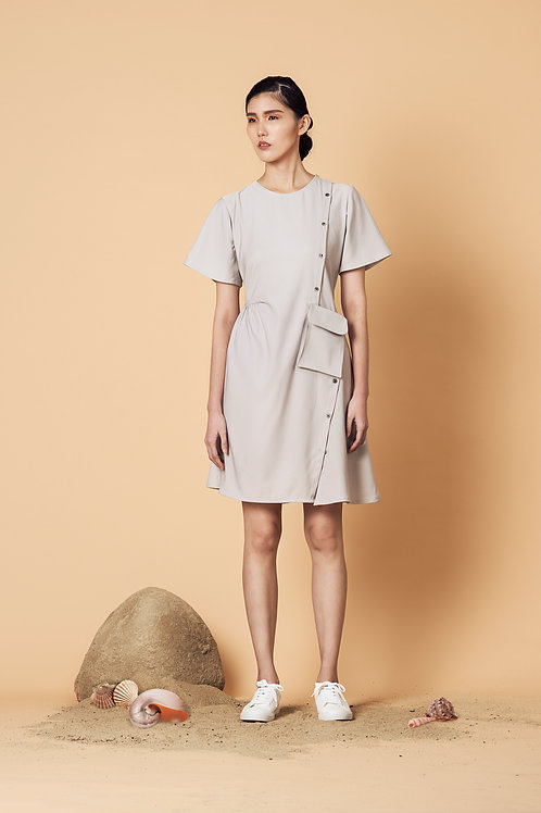 Slanted Shirtdress