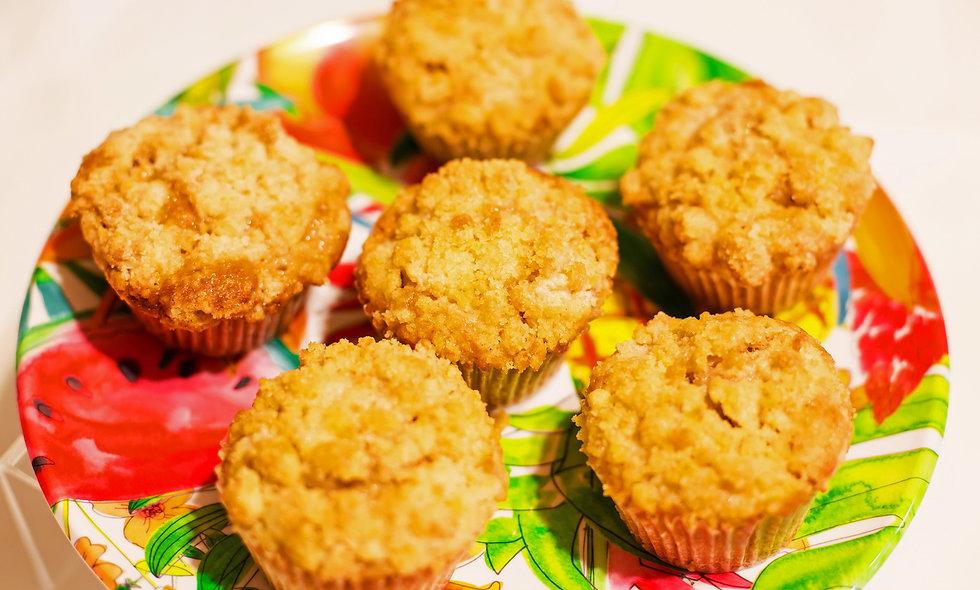 Apple Crumble Muffin
