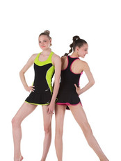 Solo collection in lime & fuchsia