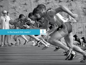 Is the board ESG ready?