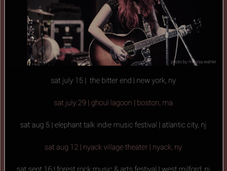 Updated Tour Dates!