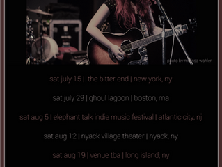 SUMMER 2017 TOUR DATES ANNOUNCED!