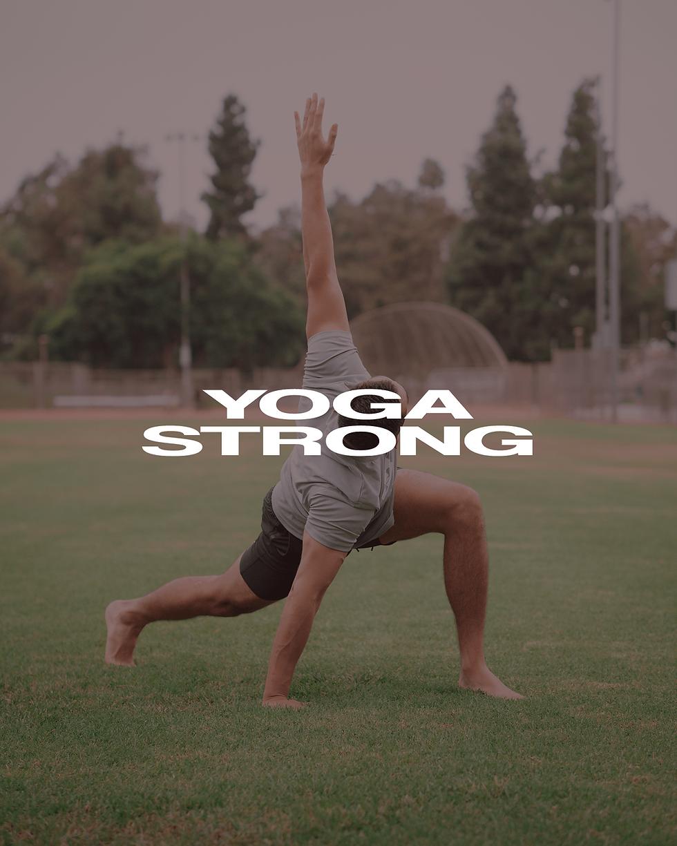 yoga strong outside yoga
