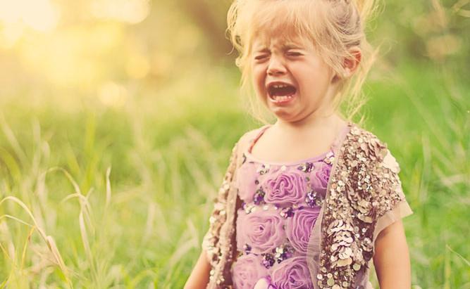 De ce fac copiii crize de furie?