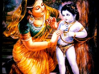 Bhagavat Saptáh – Den první – Dámodar Lílá