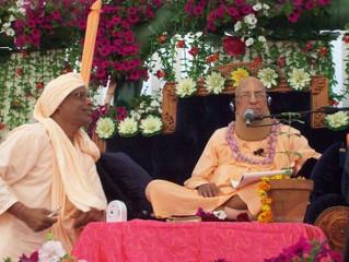 Šríla Gurudév hovoří o svém Nejdražším Gurudévovi