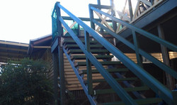 installation of stairs to house in brisb