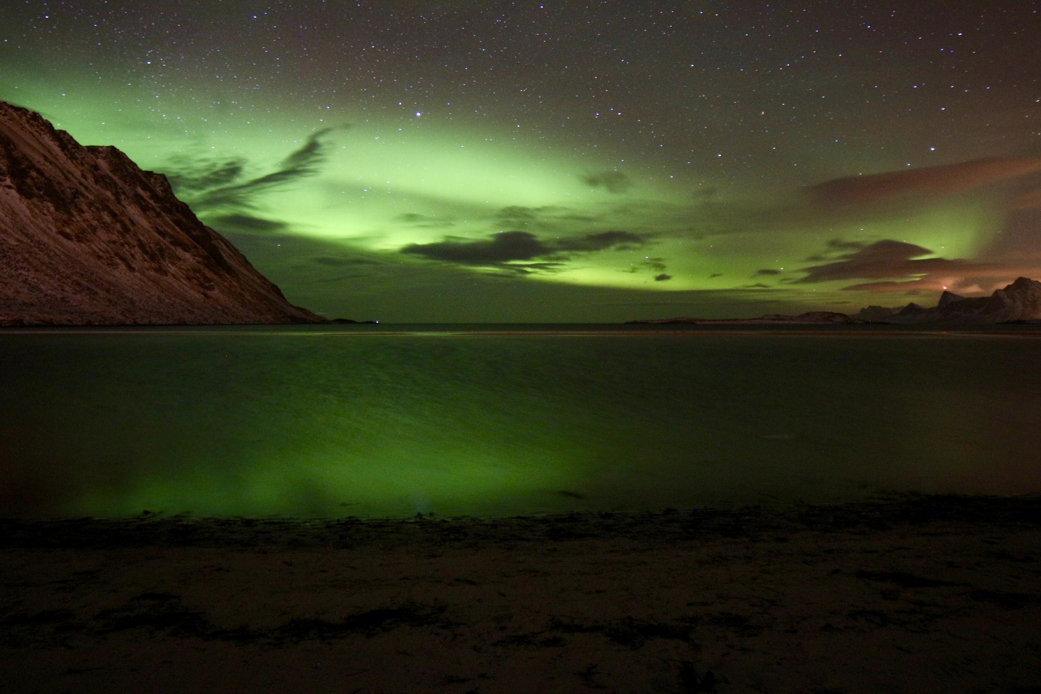 UTTAKLEIV BEACH NORWAY