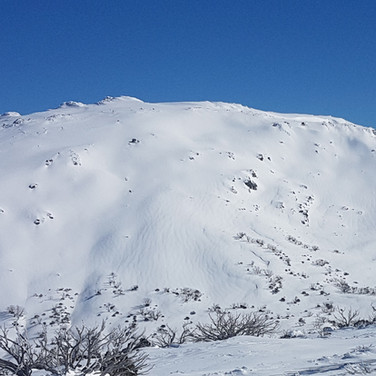 Snowy Mountains Backcountry SMBC - The skiing off Mt Tate