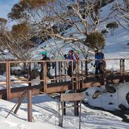 Snowy Mountains Backcountry SMBC Farm Ck bridge
