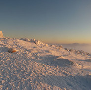 Snowy Mountains Backcountry SMBC Sunrise from the Summit