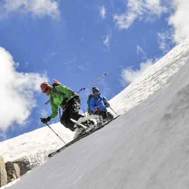 Snowy Mountains Backcountry SMBC Blue Lk Chutes
