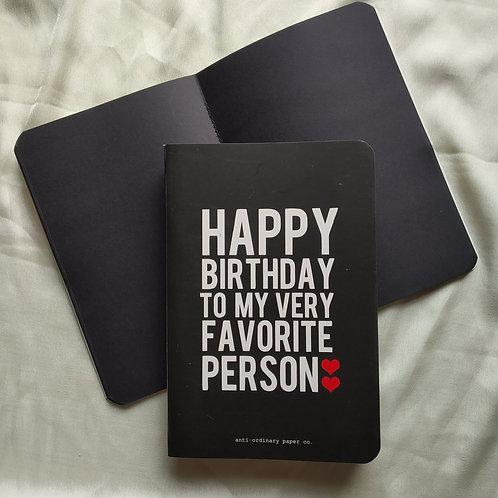 A5 Happy birthday (photo album).
