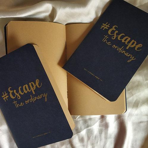Organiic brown paper A5 diary (Organic paper pen free)