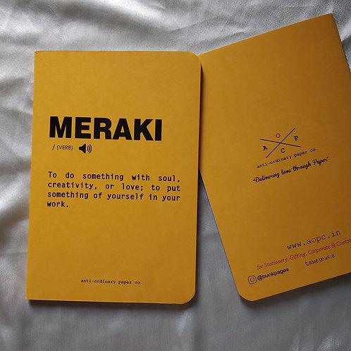 Meraki Notepad