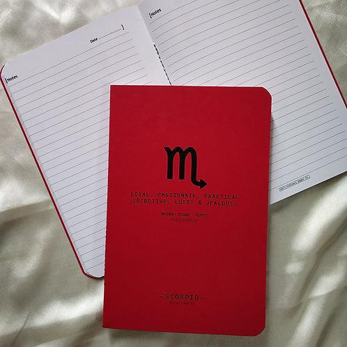 """""""Scorpio"""" Sunsign diary"""