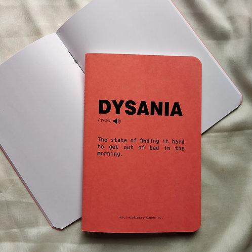 Dysania Notepad