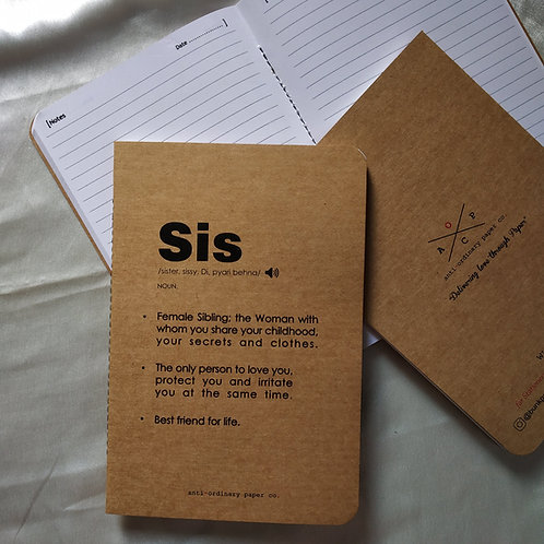 """Diary for """"Sister"""""""