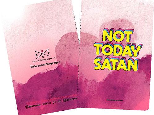 """Anti-ordinary """"satan"""" Note-Pad"""