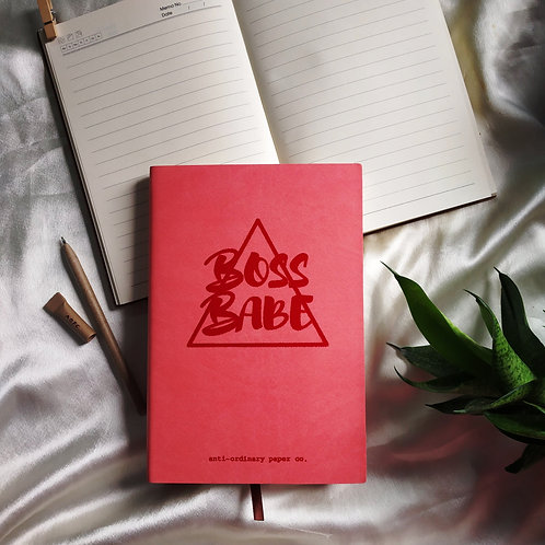 """Girl Boss"" Leather Journals"