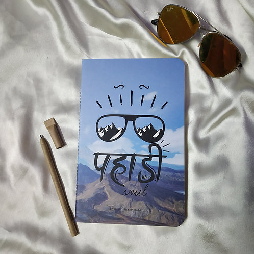 "Anti-ordinary ""Pahadi Soul"" Note-Pad"