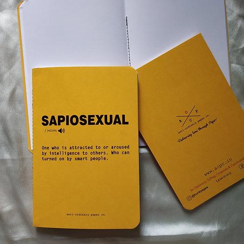 Sapiosexual Notepad