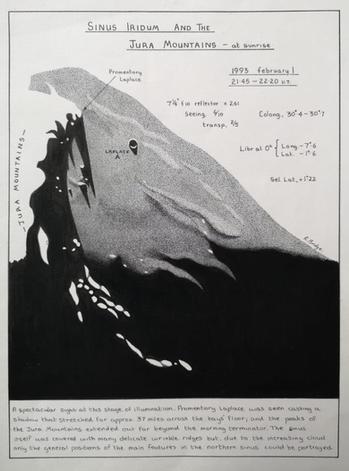 33. Lunar Study Through A Telescope (2)
