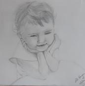Thinking - Pencil Drawing - NFS.jpg