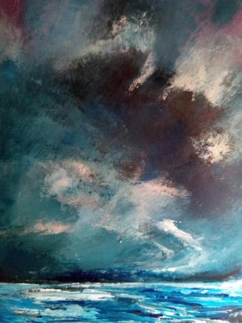 40. Stormy Sky