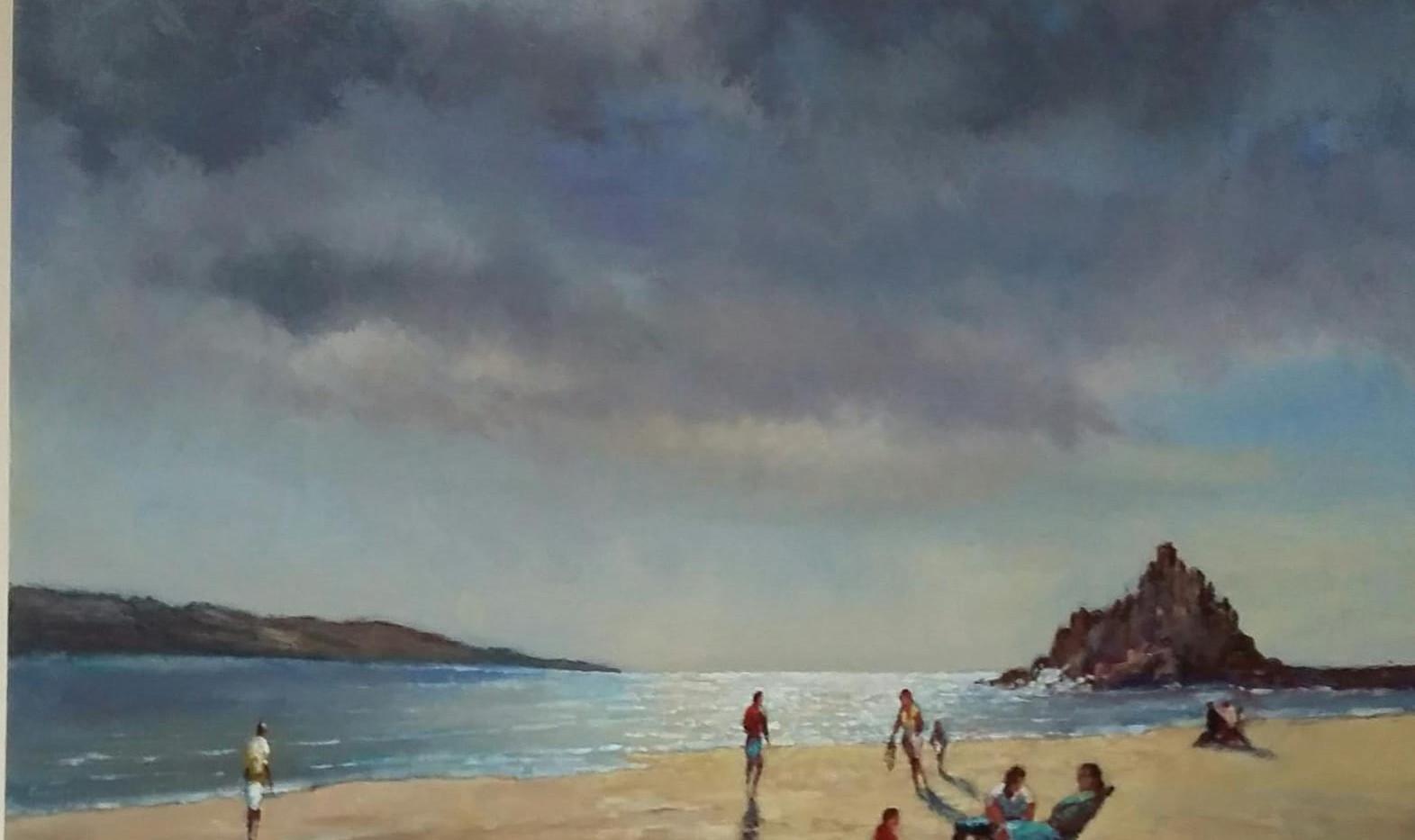 Nolan Abbott Painting of Hope Cove.jpg