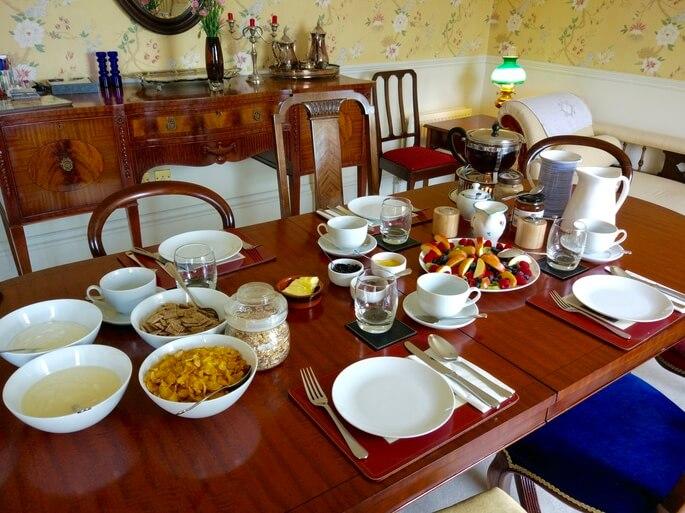 Breakfast at Bowden House B&B
