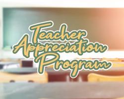 Teacher Appreciation Program