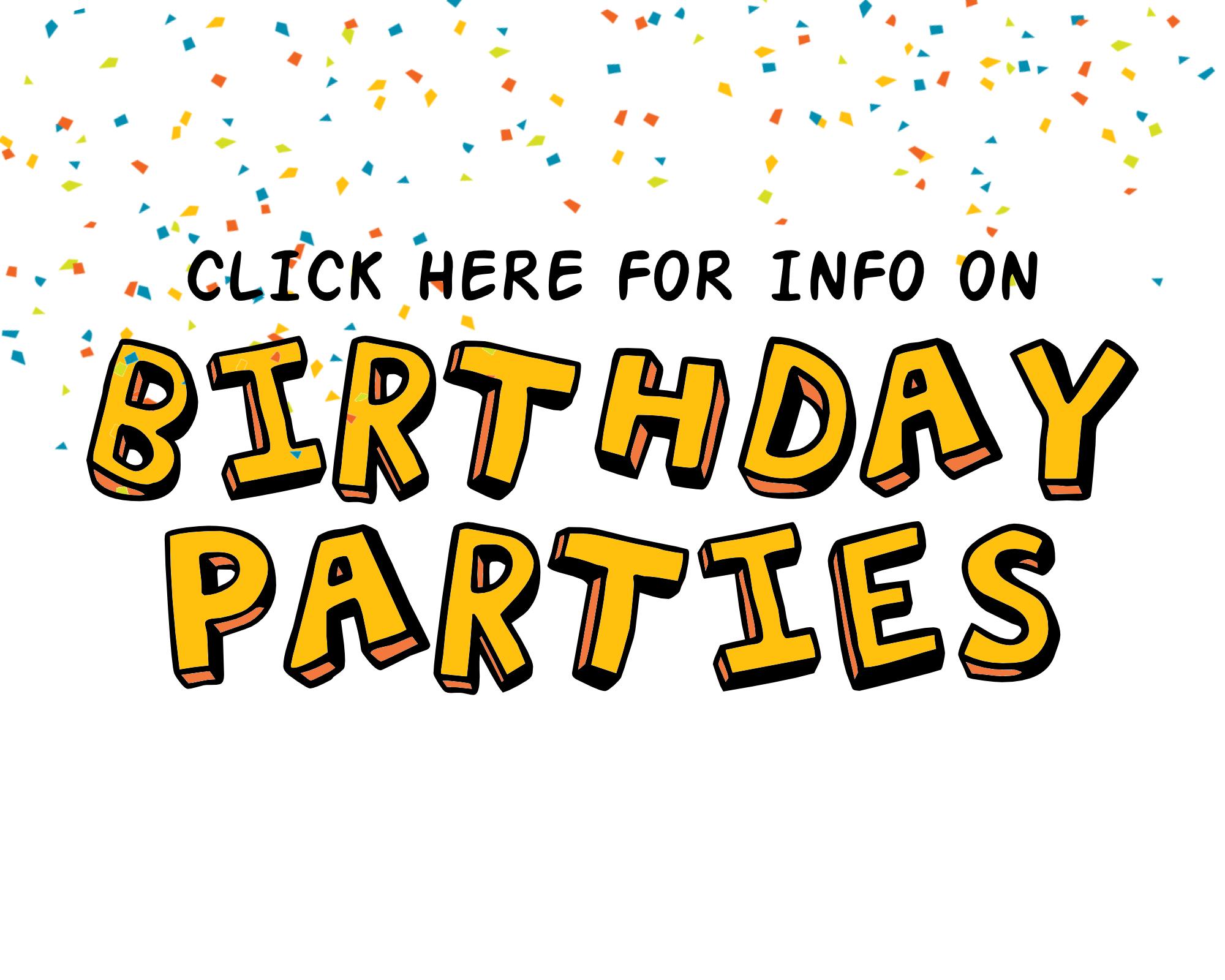 BIRTHDAY PARTIES WEBSITE