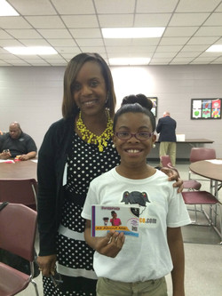 LaDon Ward Principal at Conley Elementary School and participant at the Aldine A
