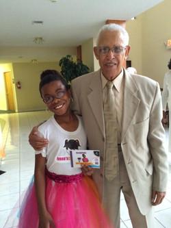 Ivana w Pastor Thomas Edwards -Little York Church Of God In Christ, Houston, Tex