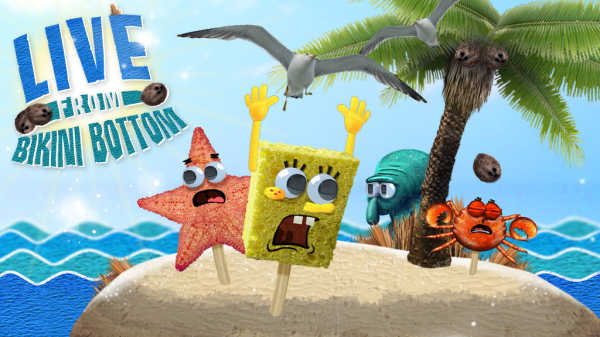 Spongebob Live From Bikini Bottom Game