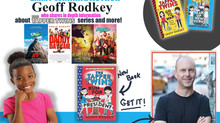 """Geoff Rodkey, Emmy Winning Screen writer and Author of the Awesome Book Series """"The Tapper Twin"""
