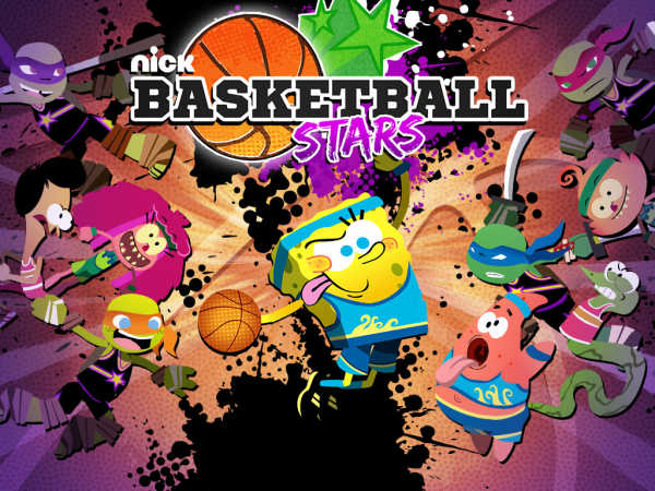 Spongebob Basket Ball Stars