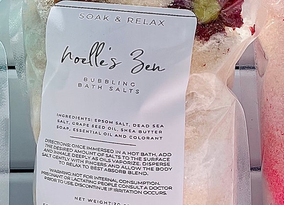 Noelle's Zen Bubbling Bath Salts