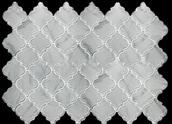 Glass Lantern Fade White