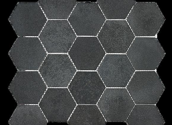 Dust Grey Hexagon Mosaic