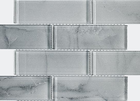 Glitzy Grey Glass