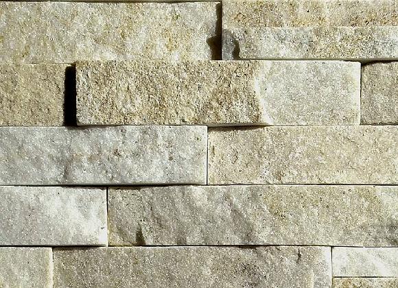 Cream Quartzite 3D Panels