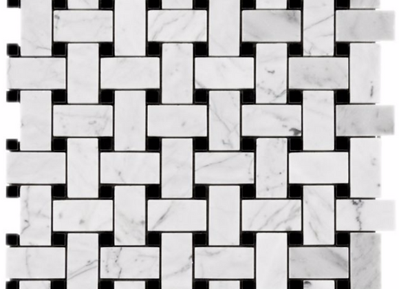 Mix Marble Black And White Weave