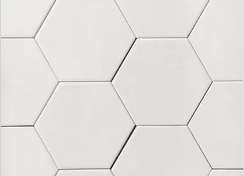 Hexagon White Brillo
